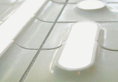 плитка со втроенными LED светильниками