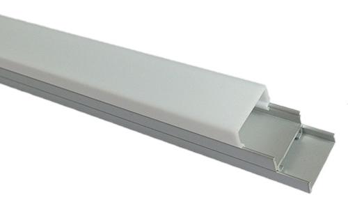 светодиодный профиль с матовым рассеивателем
