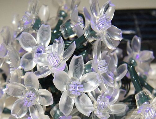 устройство светодиодного цветка