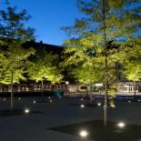 Грунтовые светодиодные светильники – для создания многофункциональной подсветки