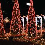 Калейдоскоп новогодних огней обеспечат светодиодные гирлянды